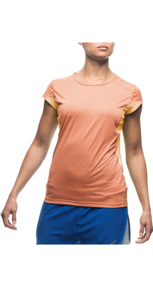 Houdini W's Swifty Tee Poppy Orange/Pistil Peach